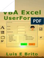 VBA Excel UserForms - Luis Brito