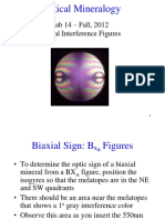 (Lab14) Biaxial Interference Figures F12