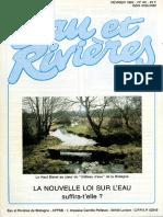 080 Eau & Rivières 80 - Fev 1992 - Nouvelle Loi Sur l'Eau