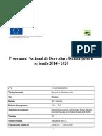 PNDR 2014 2020 Versiunea Aprobata 30 Iunie 2017