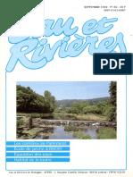 082 Eau & Rivières 82 - Sept 1992 - Epuration Des Eaux
