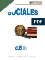 Modulo Sociales Ciclo 3 2014
