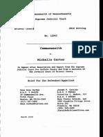 Michelle Carter Appellant Carter Brief