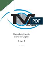 Manual Do Usuário DVR 5 Em 1 Versão 1.0