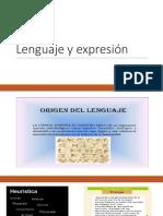 Lenguaje y Expresión