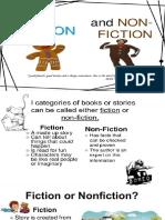 Lesson 1 Fiction vs. Nonfiction