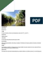 Parques Nacionales de Sucre