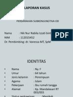 Case 2 Subconj Hemo
