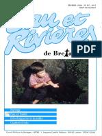 087 Eau & Rivières 87 - Fev 1994 - Barrage - Développement Durable