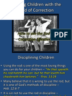4. Training Children With the Rod of Correction