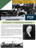 Tema 1 Crisis Económica de 1929