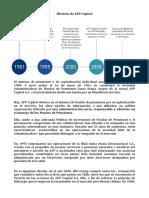 Historia de AFP Capital