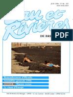 096 Eau & Rivières 96 - Juin 1996 - Remembrement Iffendic - Marées Vertes