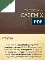 Overview of Casemix