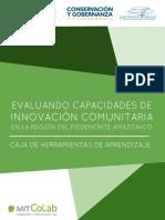 Evaluando capacidades de innovación comunitaria del la región del Piedemonte Amazonico, Caquetá