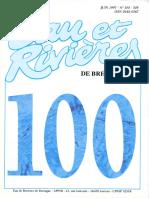100 Eau & Rivières 100 - Juin 1997 - L'Eau Du Futur