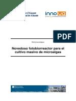 [6] Novedoso Fotobiorreactor Para El Cultivo Masivo de Microalgas