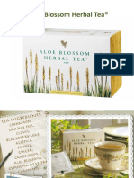 Aloe Blosson Herbal Tea