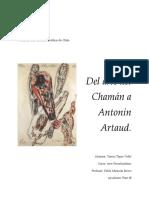 Del Arte Del Chamán a Antonin Artaud