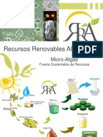 9- Recursos Renovables Alternativos - Microalgas