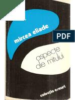Mircea Eliade Aspecte Ale Mitului