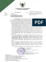Surat Edaran Tentang Surat Keterangan Pengganti KTP-el
