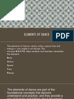 presentation Humanities elements of dance.pptx