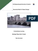 CE4024 Timber & Steel Design - PBL Tutor Document - RevE