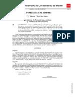 BOCM Acuerdo 09-05-17 Mejora IT