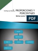Razones, Proporciones y Porcentajes