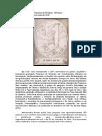 Chamada de Artigos Francisco de Holanda 500 Anos