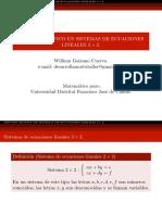 Ecuaciones Lineales 2x2 Metodo Grafico