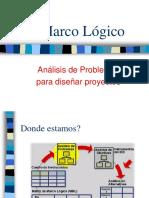Marco Lógico Problemas