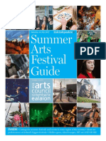 Summer Arts Festival Guide 2017