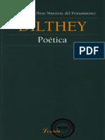 Dilthey Wilhelm - Poetica