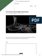 No-Render Quick Night Illustration _ Visualizing Architecture