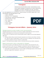 Telangana Current Affairs 2016 (Jan-Dec) by AffairsCloud