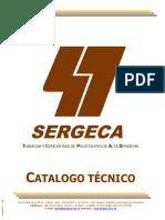 Catalogo Tecnico Sergeca