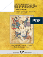 La Lucha de Bandos en El País Vasco. de Los Parientes Mayores a La Hidalguía Universal. Guipuzcoa, Siglos XIV-XVI