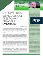 Salud, Nutrición & Bienestar_Embarazo_Dossier Nº 35