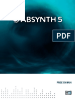 Absynth 5 Getting Started French