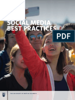 UBC Social Media Best Practices