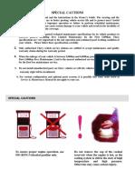 Customer Maintenance Manual for Windcloud