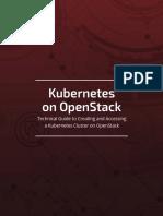 Kubernetes on OpenStack eBook Final