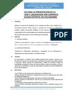 Directiva Valorizaciones y Liquidaciones Por Contrata Mdc