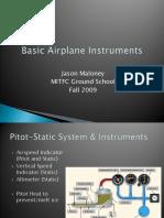 MITFC Basic Airplane Instruments