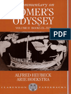 Alfred Heubeck, Arie Hoekstra-A Commentary on Homer's