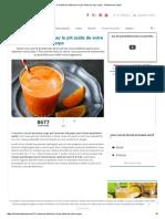 11 Manières d'Éliminer Le PH Acide de Votre Corps - Améliore Ta Santé