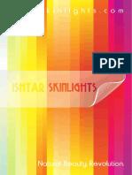 Ishtar Skincare Booklet 2014