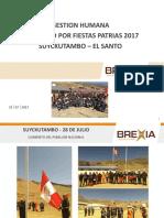 Informe Fotográfico Fiestas Patrias 2017